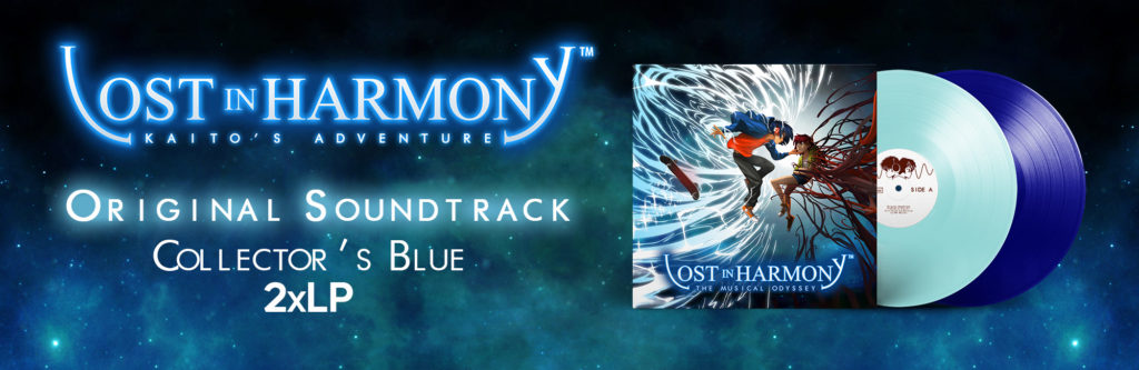 Lost in Harmony Kaito's Adventure Blue 2xLP