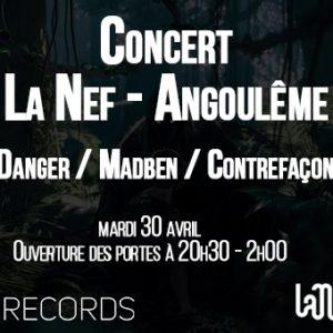 Concert La Nef Angoulême