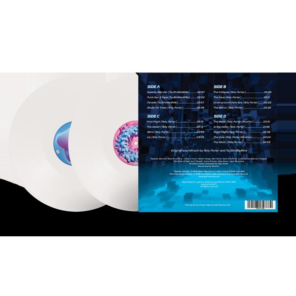 Paper Beast - Double Vinyl Back