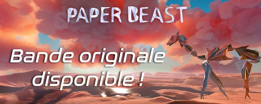 Bande Originale Paper Beast